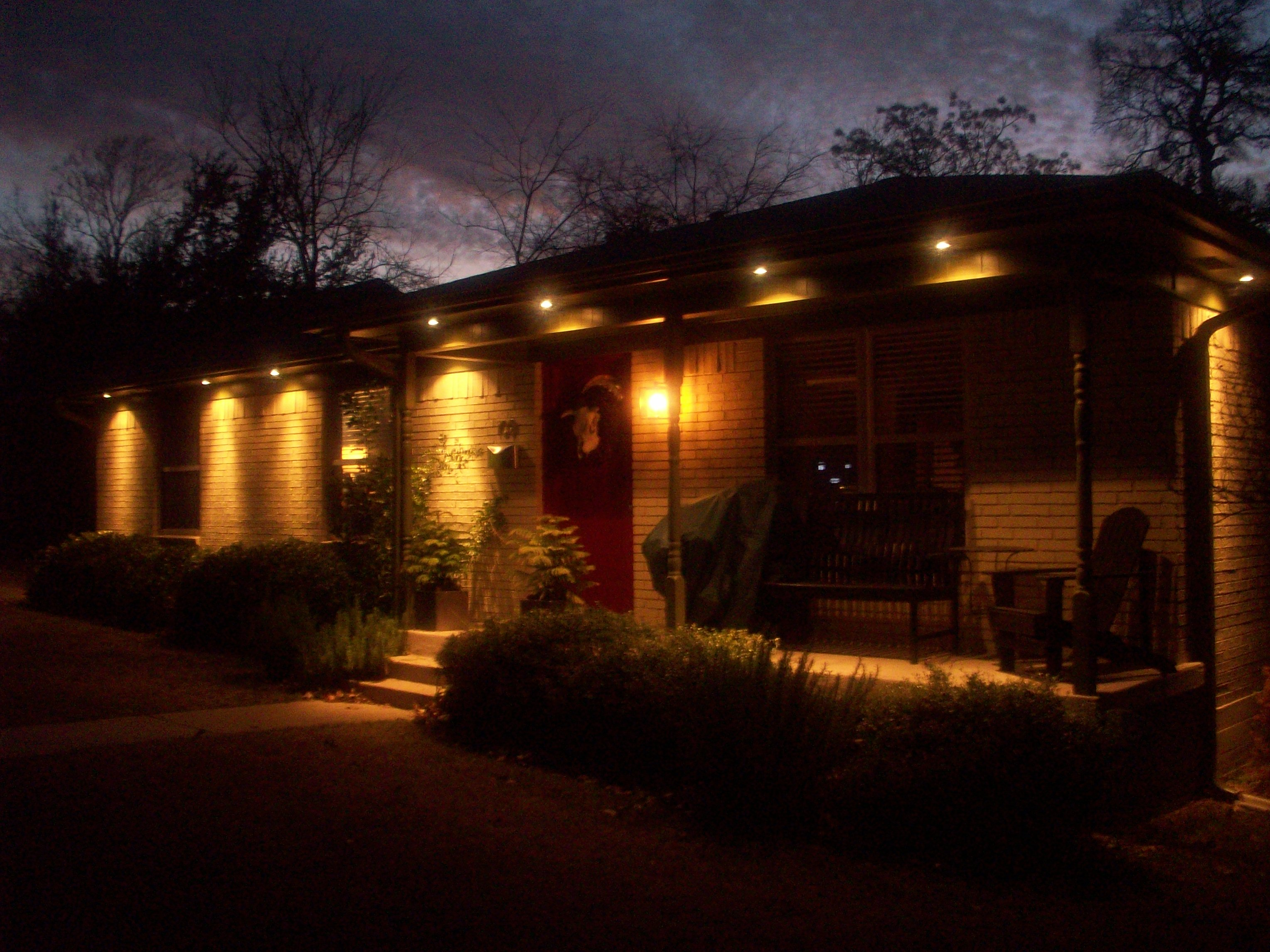 Exterior Lights The Cavender Diary
