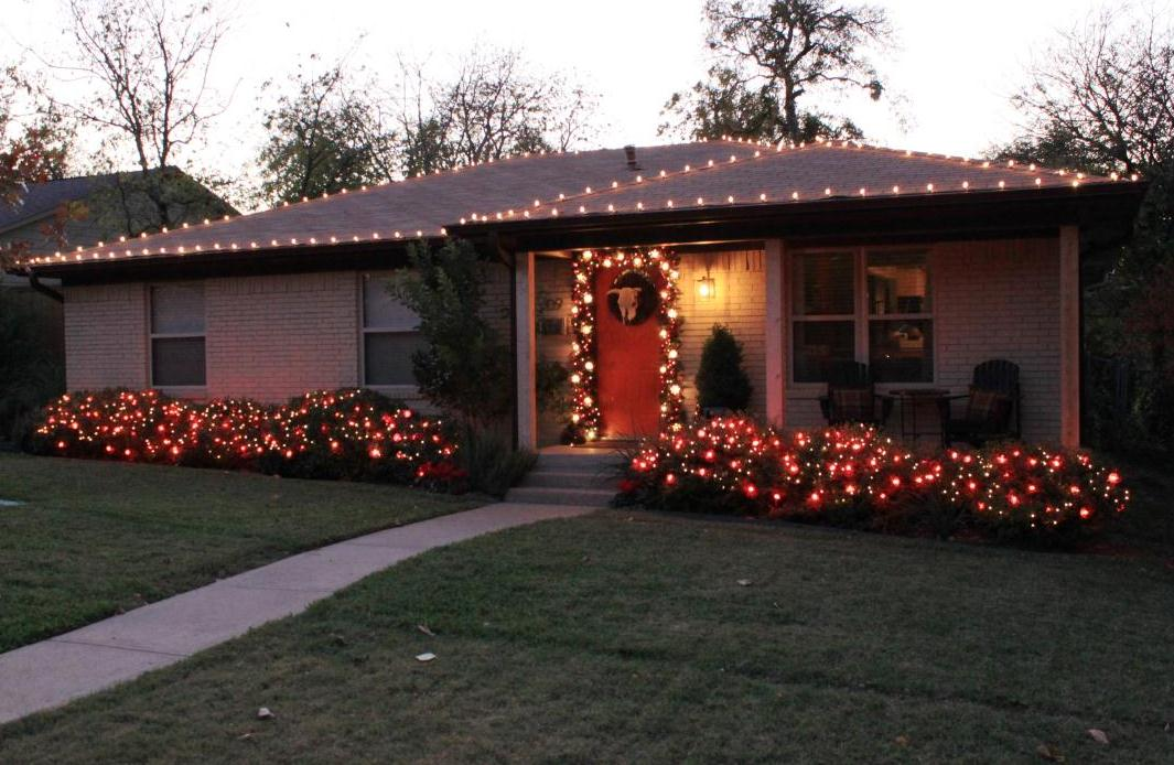 ba bam - How To Decorate A Ranch Style Home For Christmas