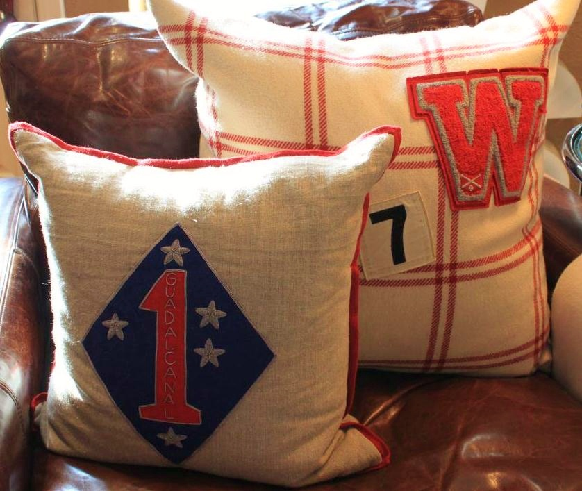 Pillows with Big Patches in the Cavender Den