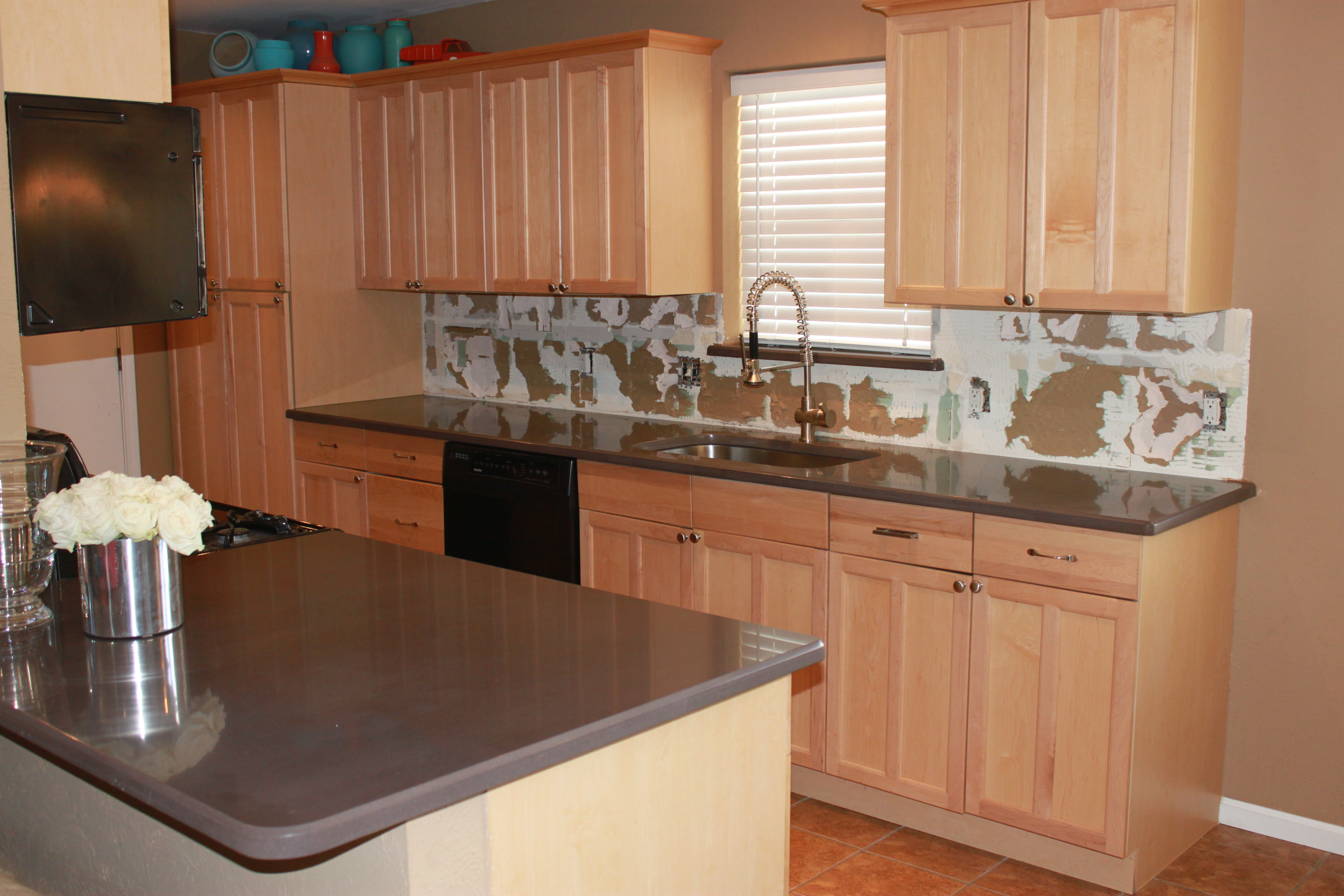 cabinets birch wood cabinet white home remodeling cidar construction kitchen