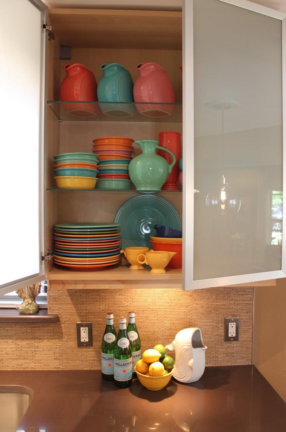 Cabinet full of Fiesta