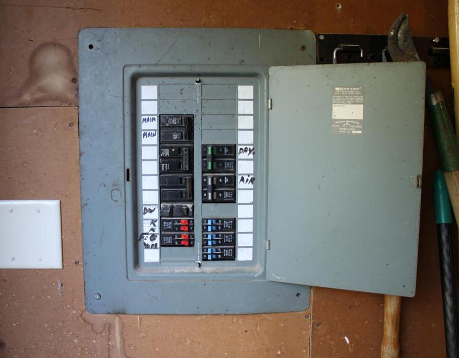 How To Replace Old Breaker Box:  THE CAVENDER DIARYrh:thecavenderdiary.com,Design
