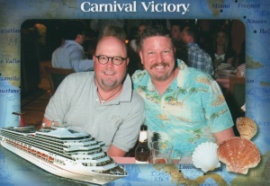 Dinner on the Carnival Victory Caribbean Cruise