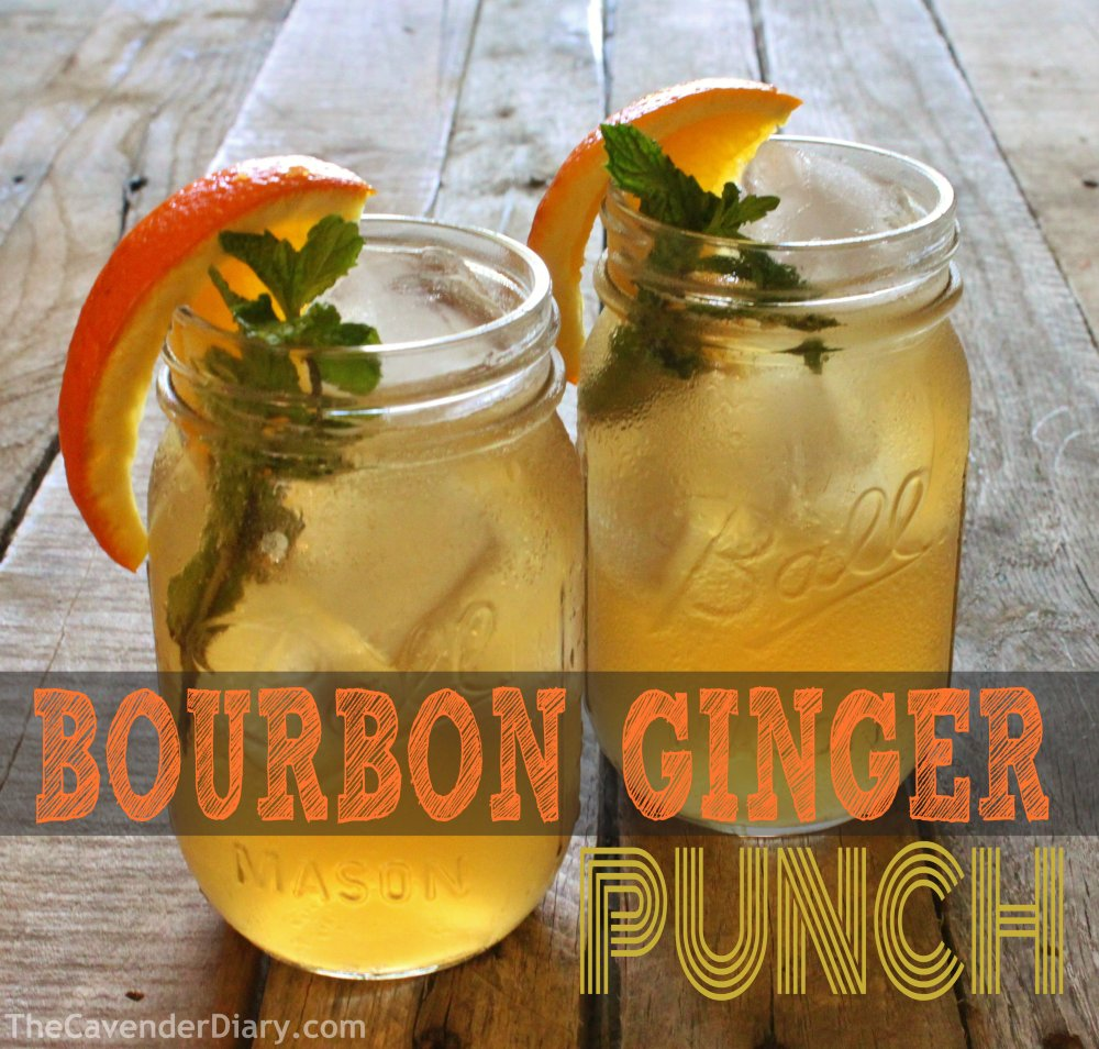 Bourbon-Ginger (What A) Punch from the Cavender Diary