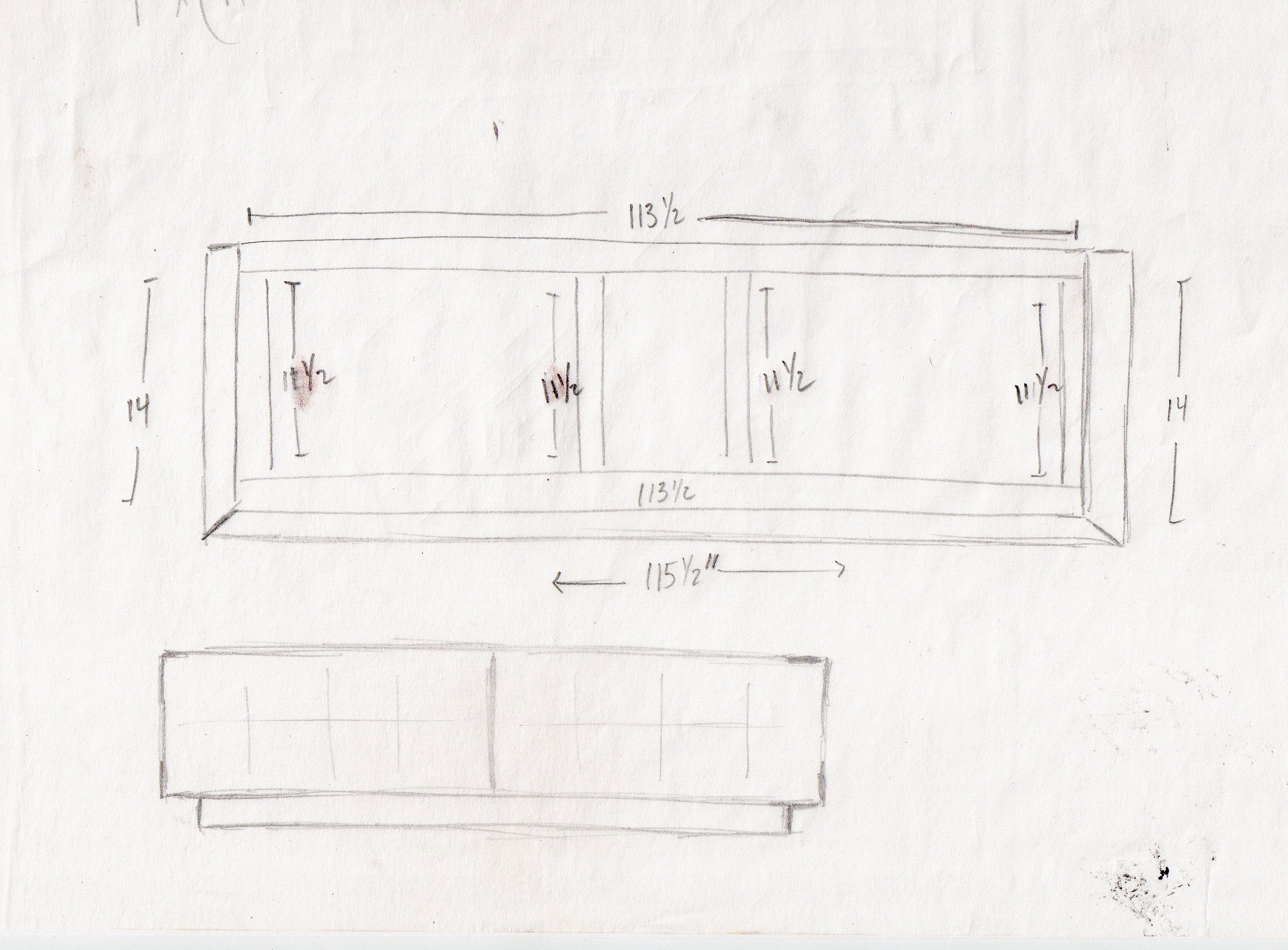 metal shelf plans