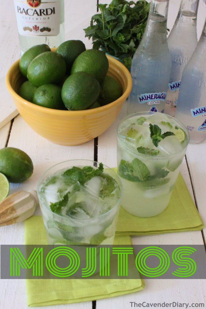 Easy Mojitos from your Cavender Diary Boys