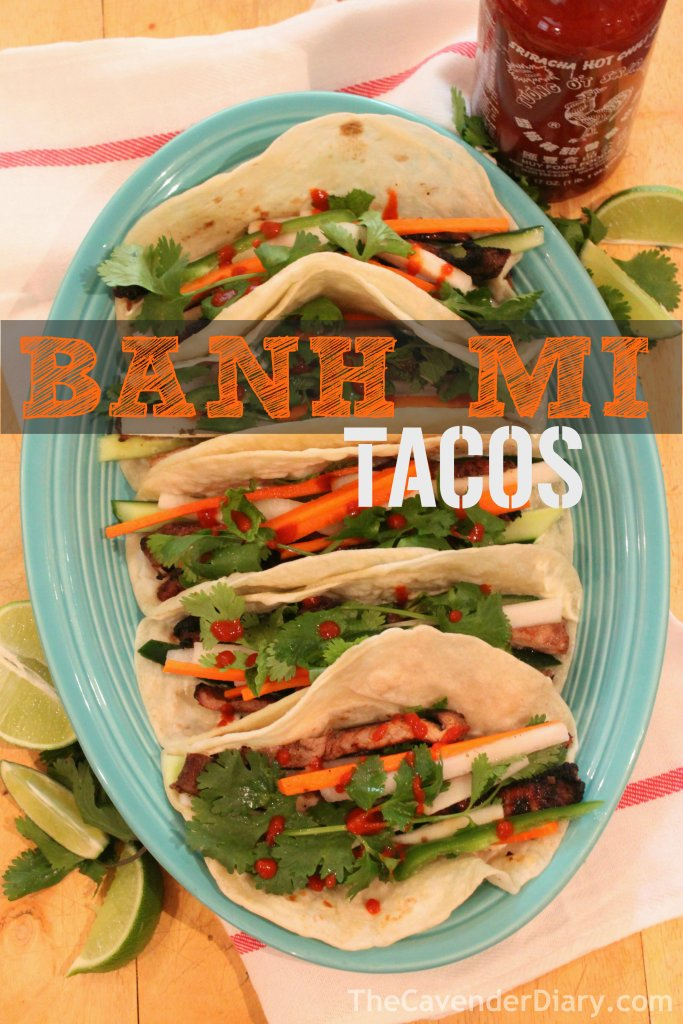 Finished Banh-Mi Tacos from the Cavender Diary Boys