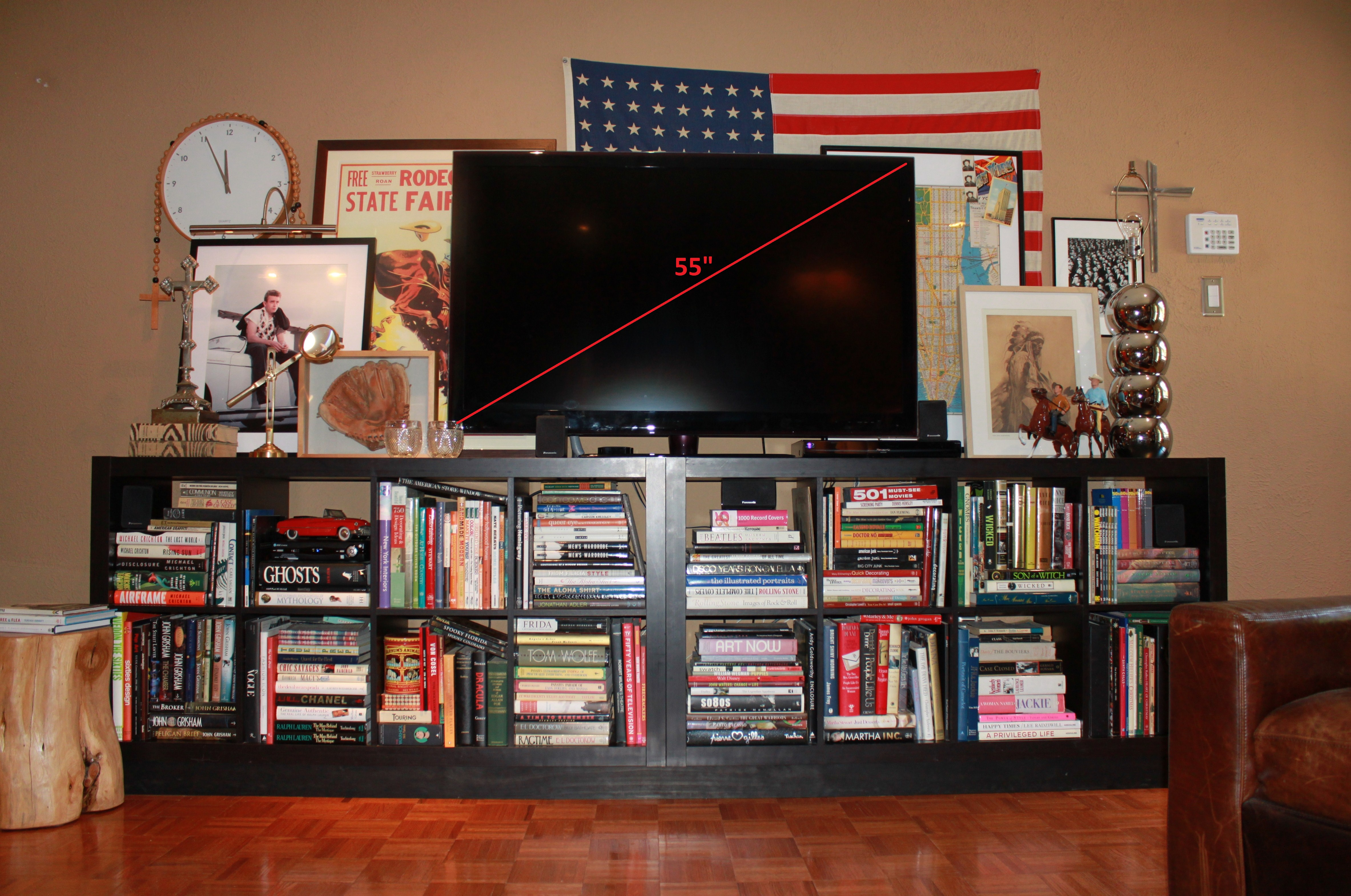 55 Inch TV   THE CAVENDER DIARY