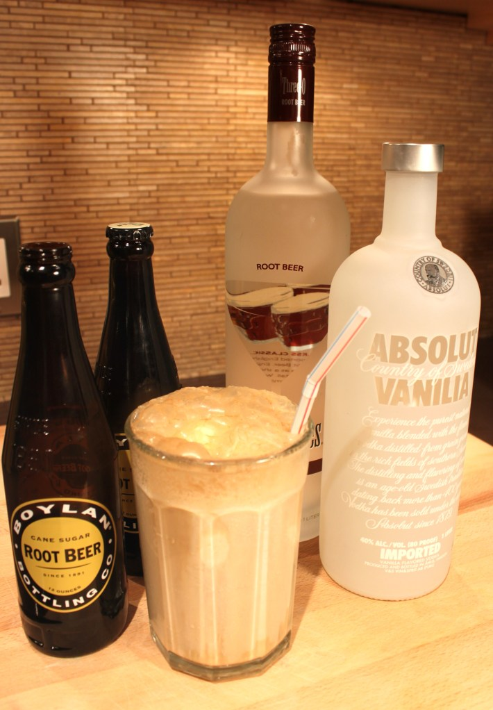 Adult Root Beer Floats