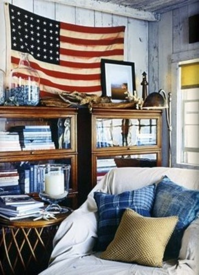 american flag living room pinning flags on the wall the cavender diary 12874