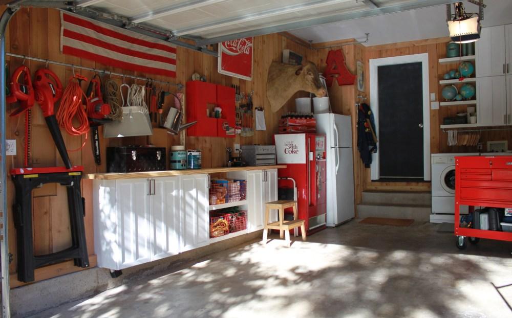 Finished Left Side of the Garage