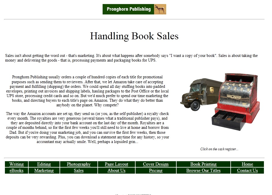 Pronghorn Publishing