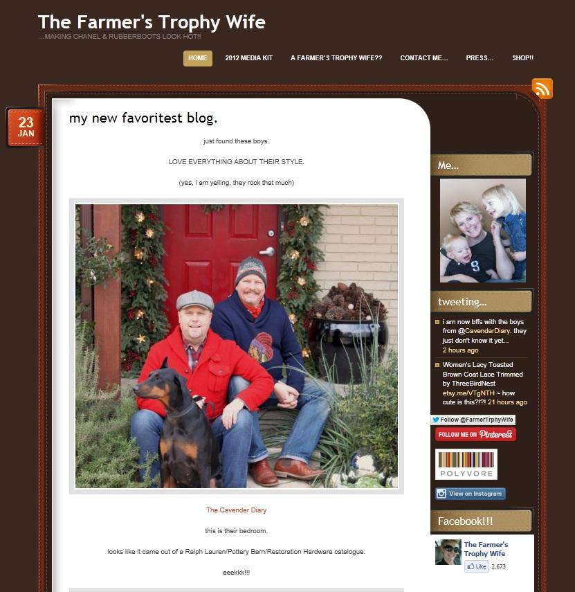 The Farmer's Trophy Wife