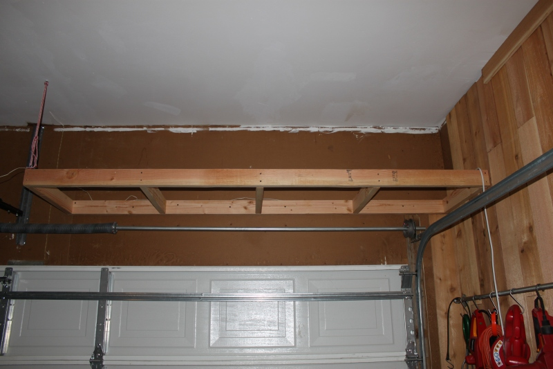 plywood garage shelf plans