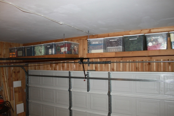 garage utility shelf plans