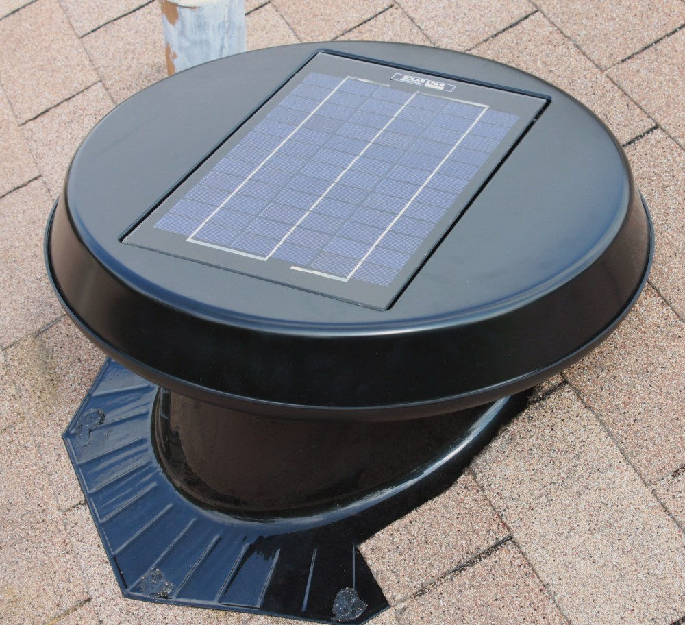 Solar Powered Attic Fan The Cavender Diary
