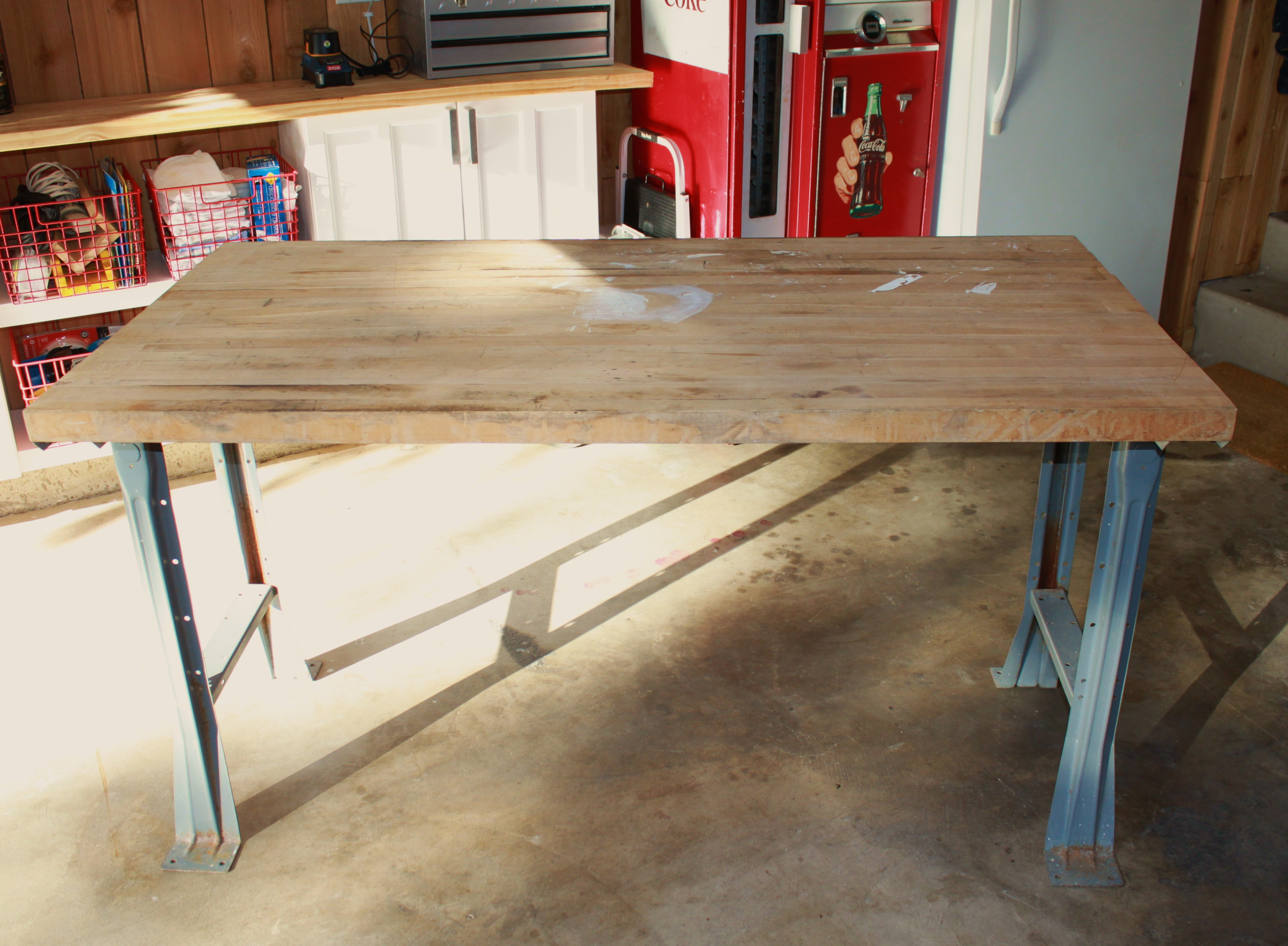 Build 4 X 8 Work Table Plans Diy Woodworking Plans Outdoor