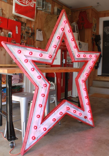 Finished Star with Bulbs Side 2