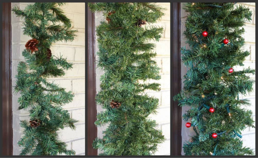 Collage of Garlands over time
