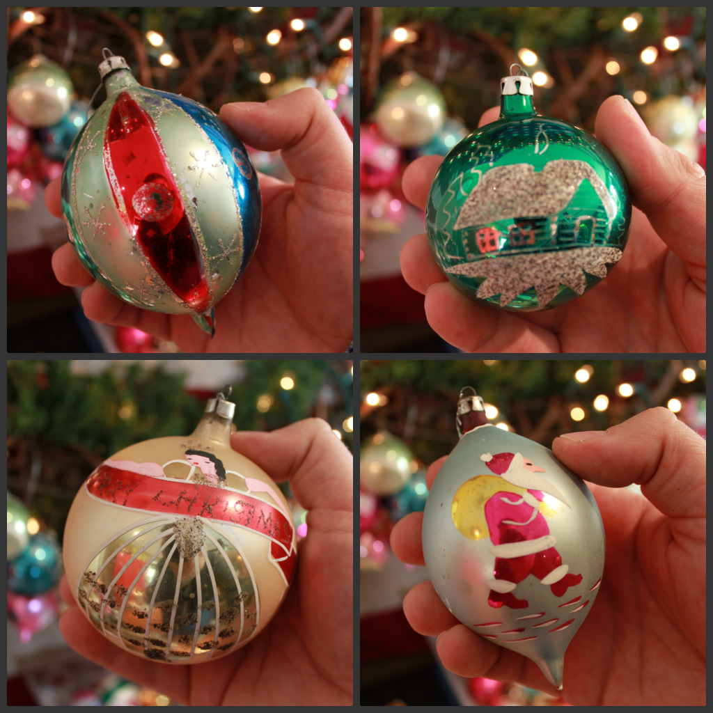 A few Favorite Vintage Ornaments