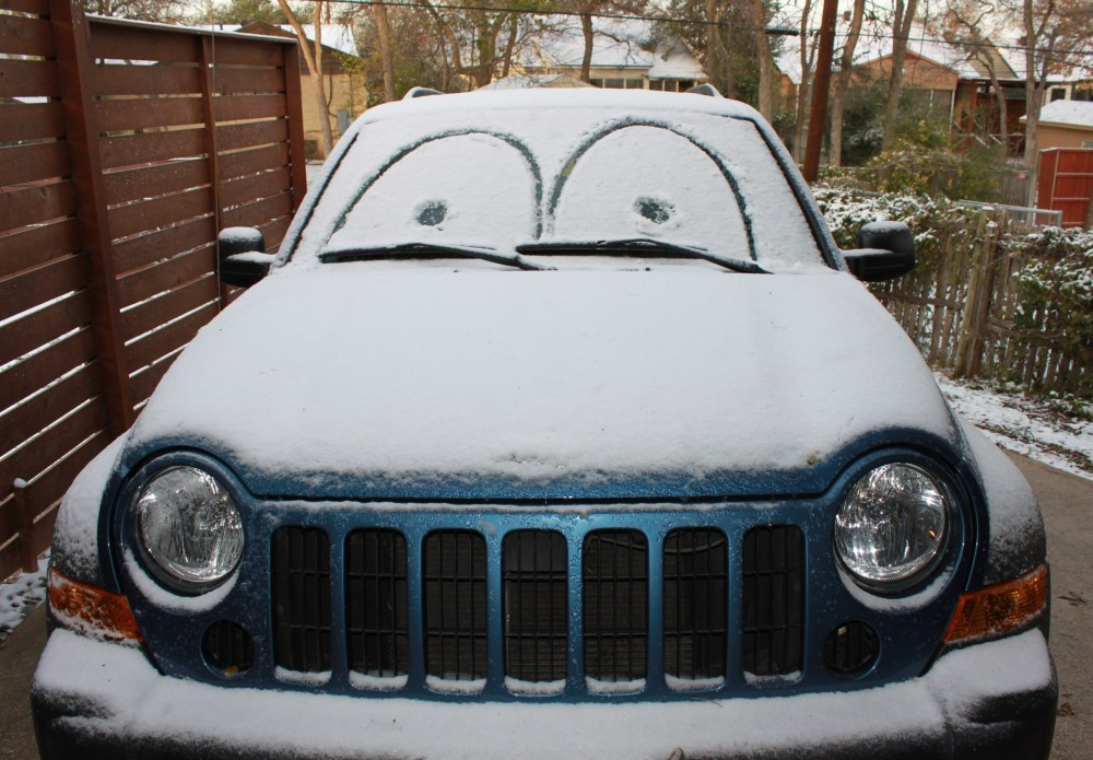 My Jeep with Cars Eyes