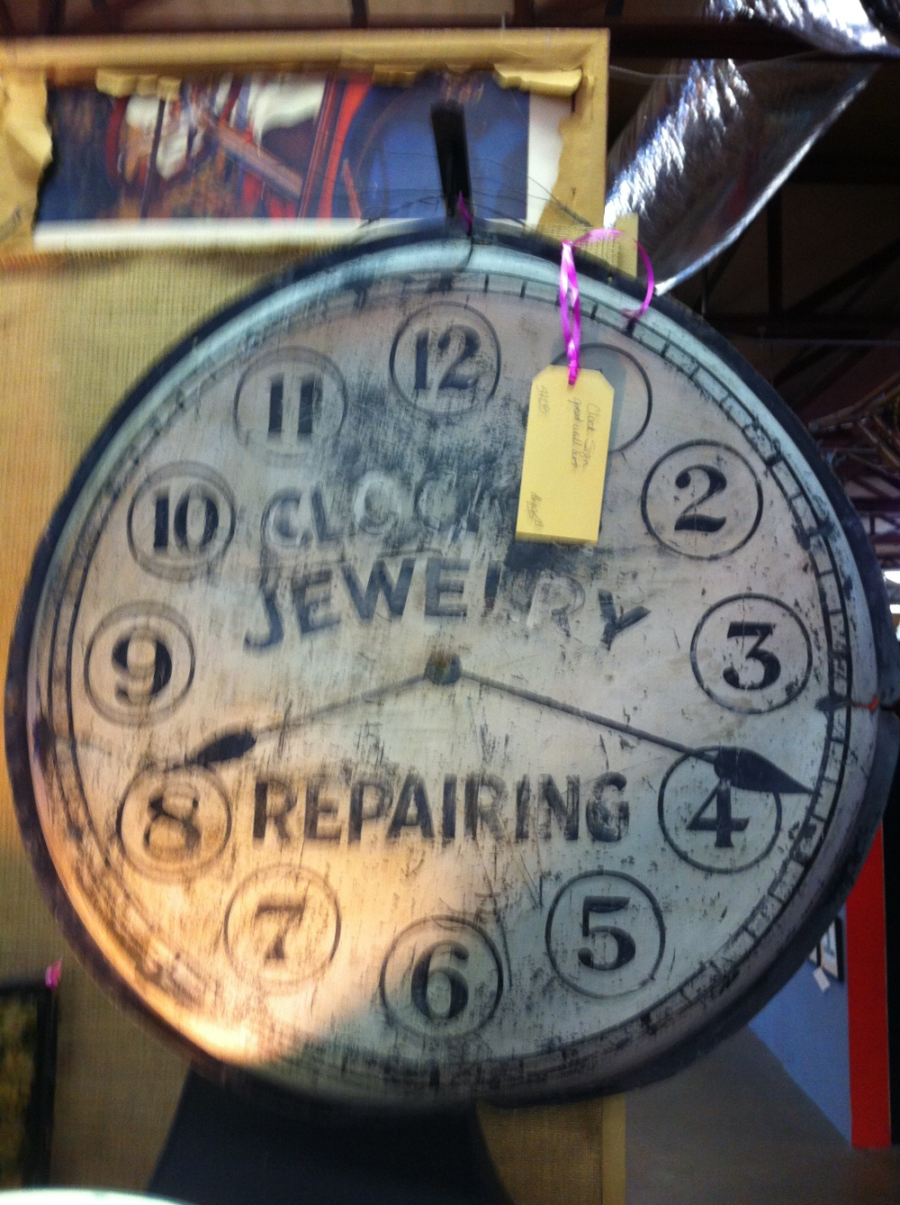 Jewelry Repair Sign