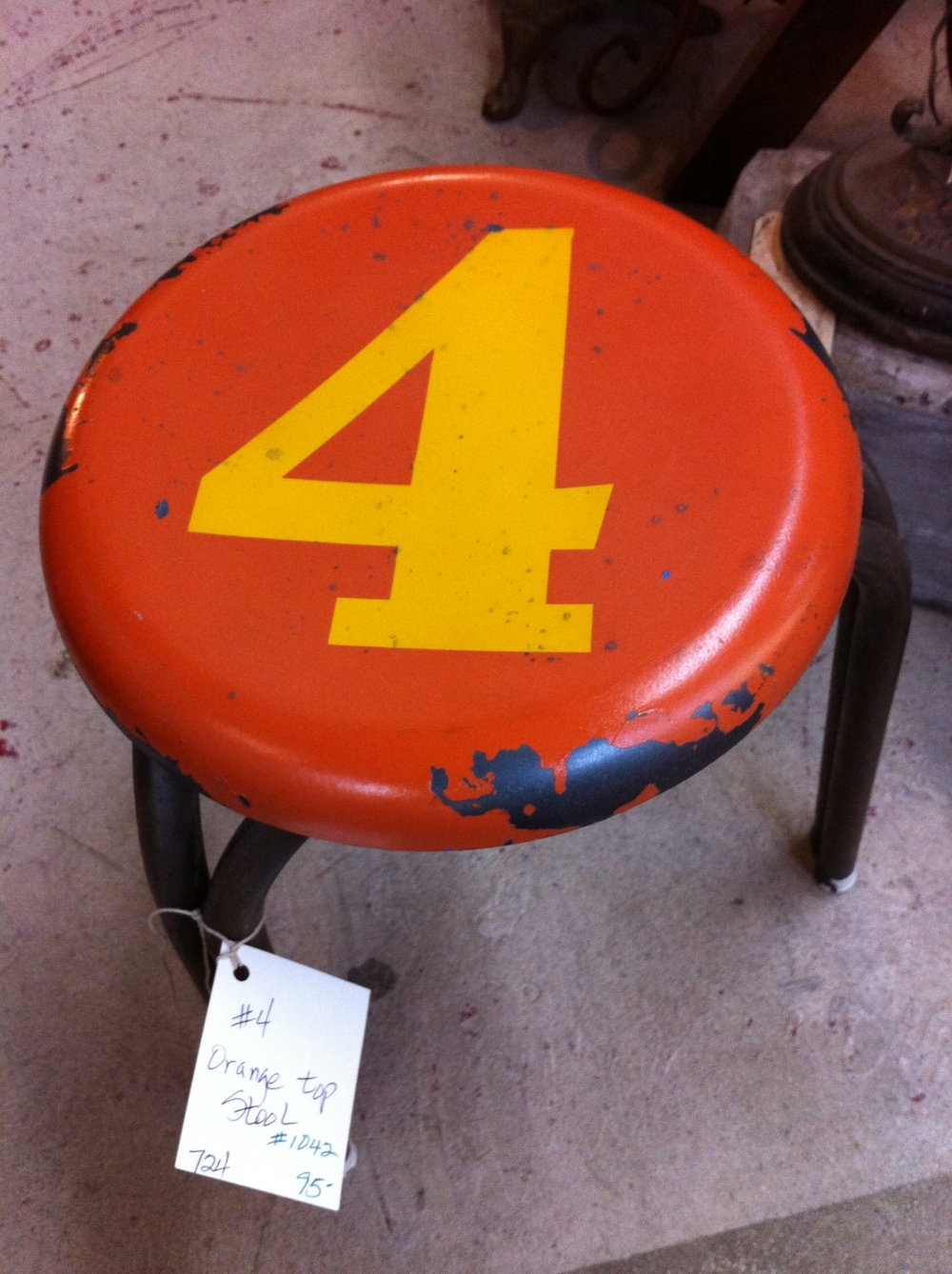 Number 4 Stool