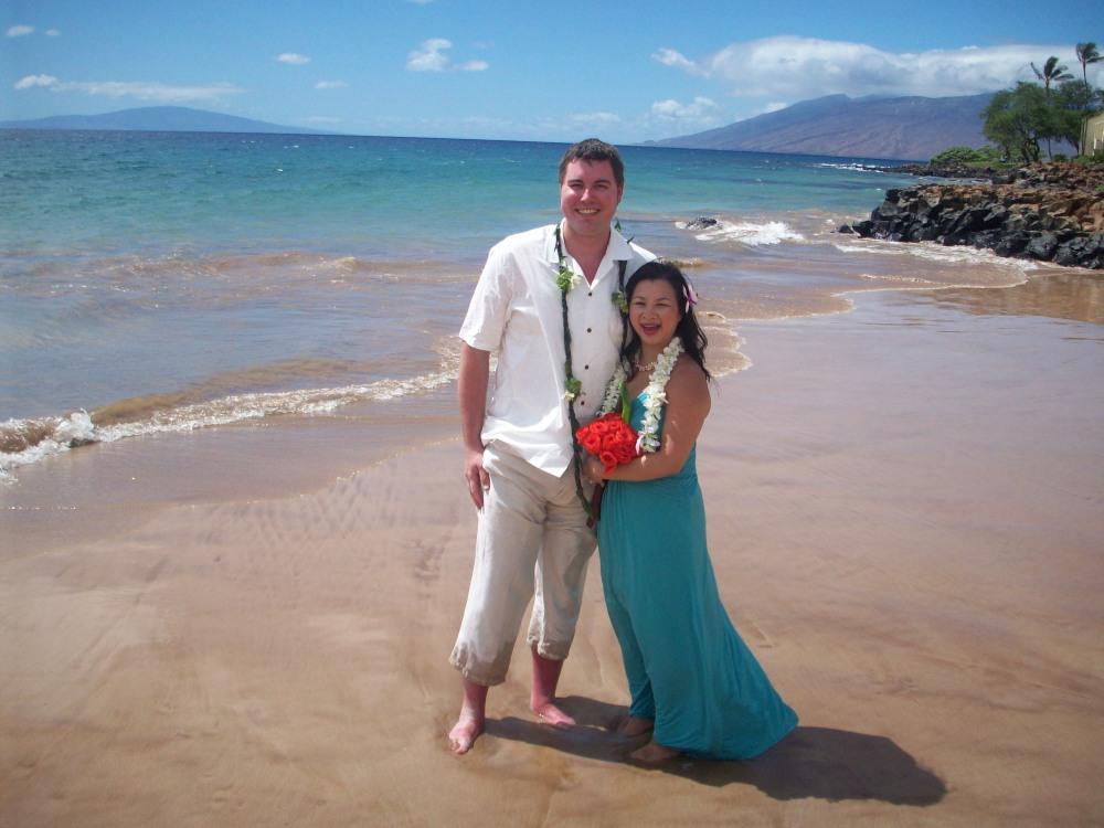 Gert and Kylie on Maui