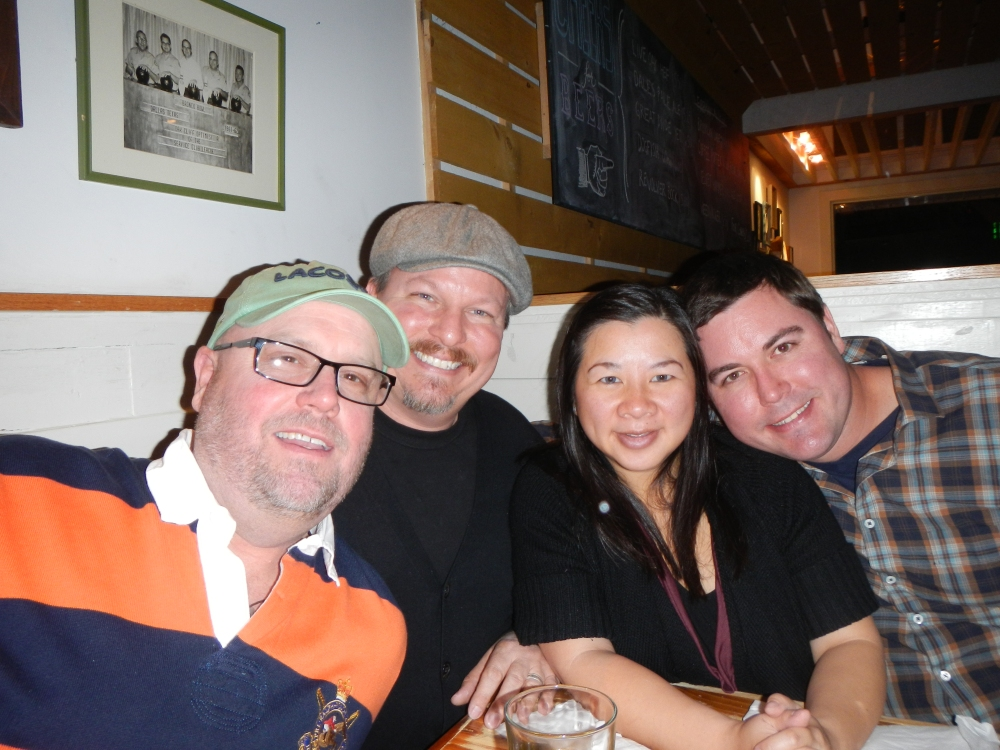 Jamie, James, Kylie, and Gert November 18 2012