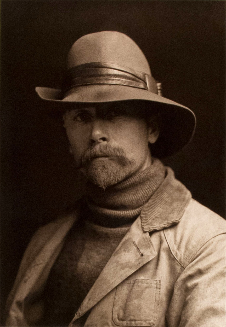 Edward S. Curtis self portrait 1899