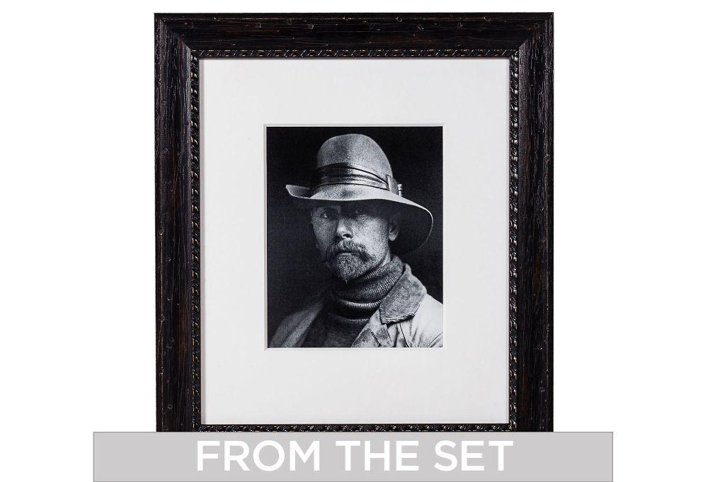 Edward Curtis Self Portrait
