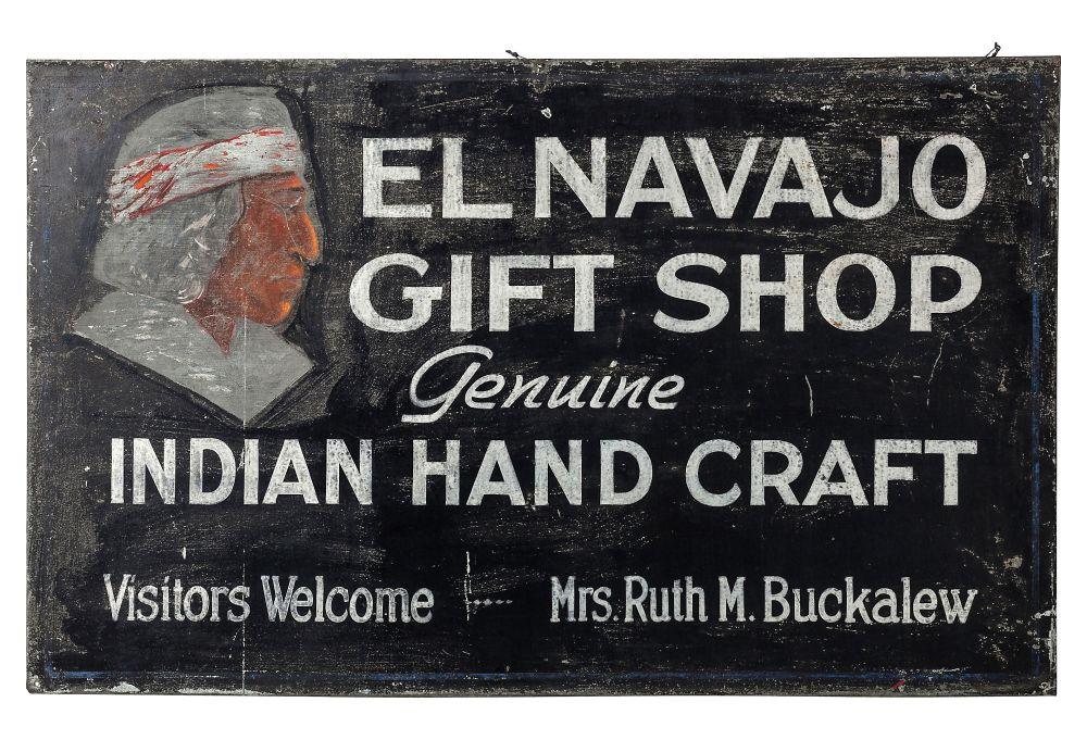 El Navajo Gift Shop Sign