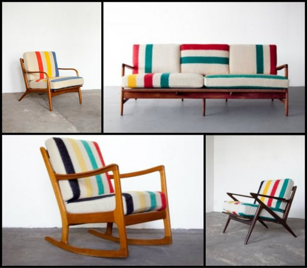 Hudson's Bay Blanket Furniture