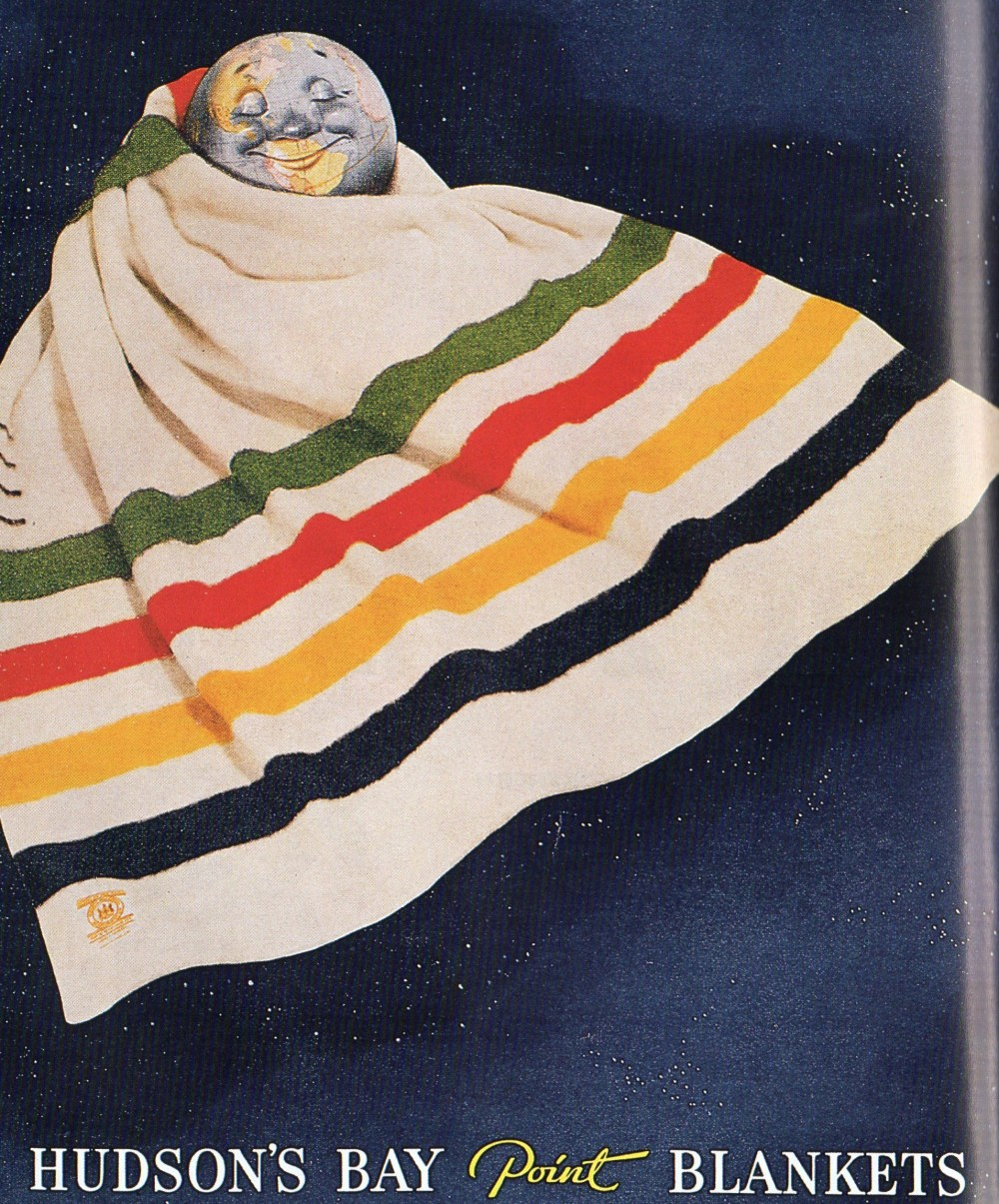 Hudson's Bay Point Blanket Add with Earth
