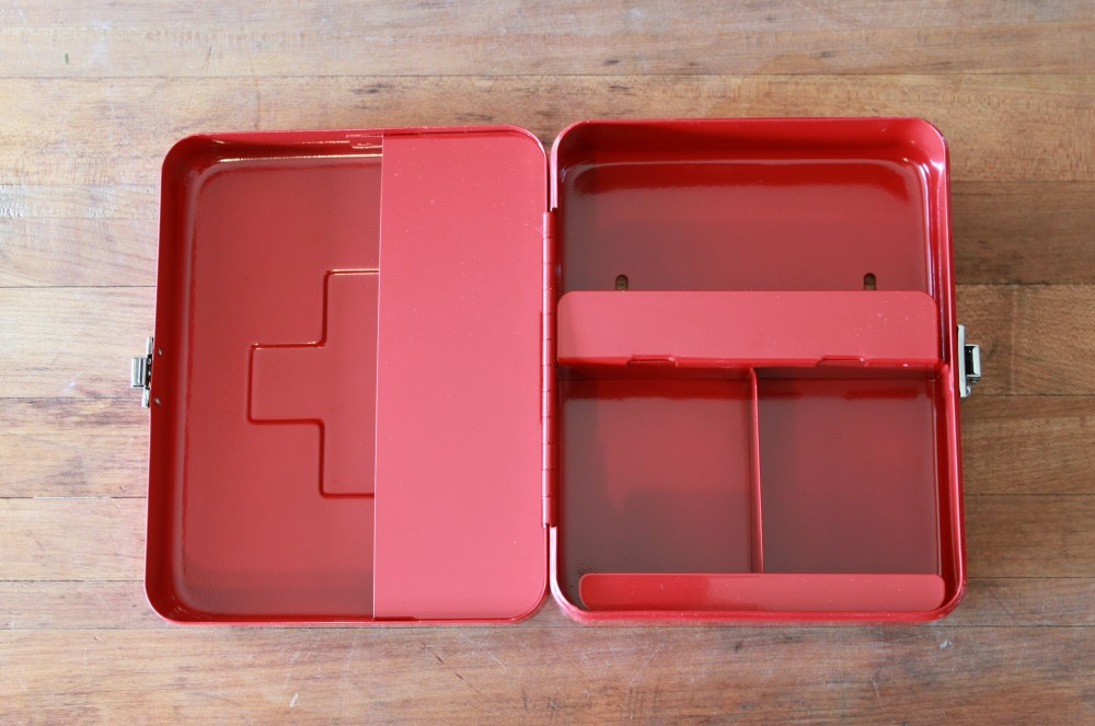 Open First Aid Box