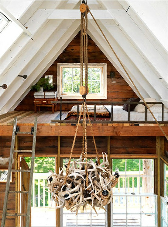 Pile of Antlers - Light Fixture