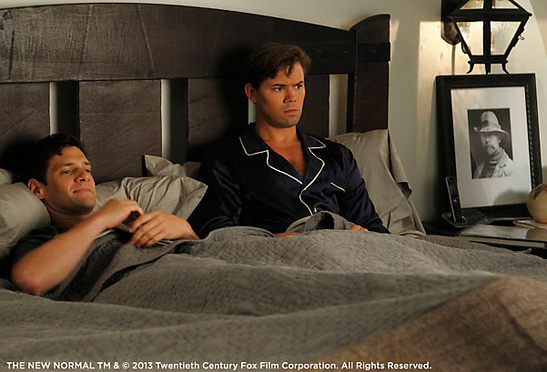 The New Normal Bed Still with Curtis Photo