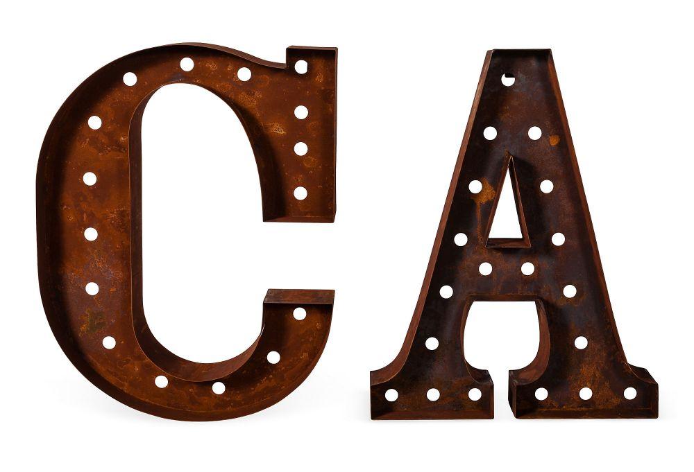 Vinatge C & A Letters