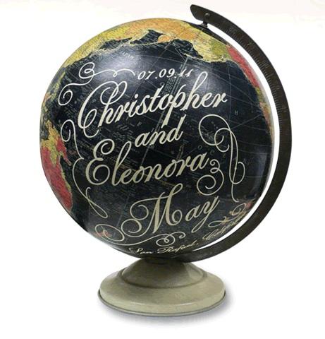 Custon Marriage Globe