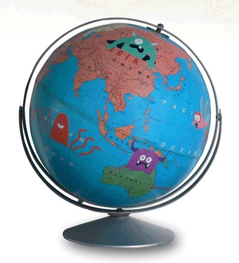 Monster Globe