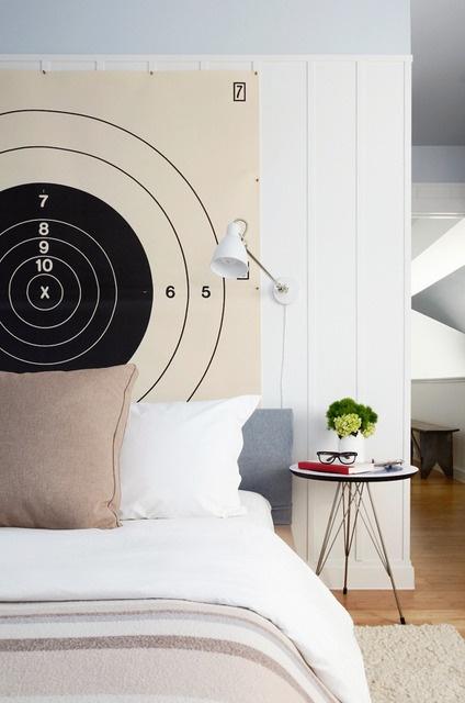 Gun Range Headboard