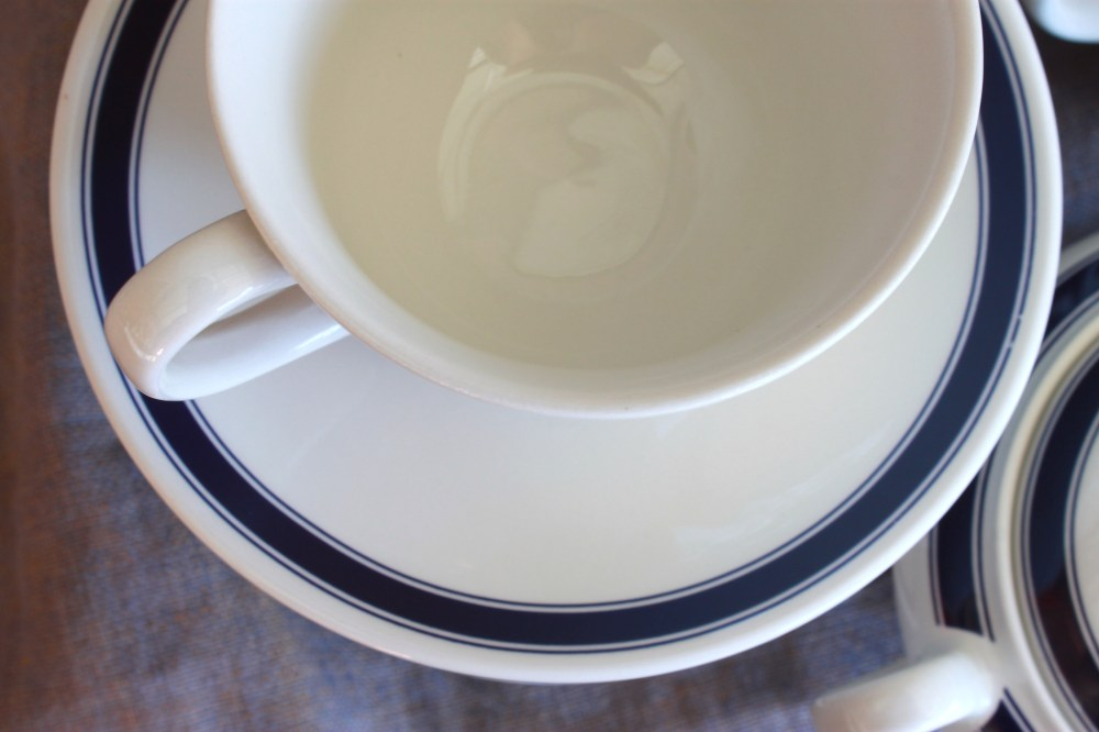 Ralph Lauren Cafe Stripe Teacup