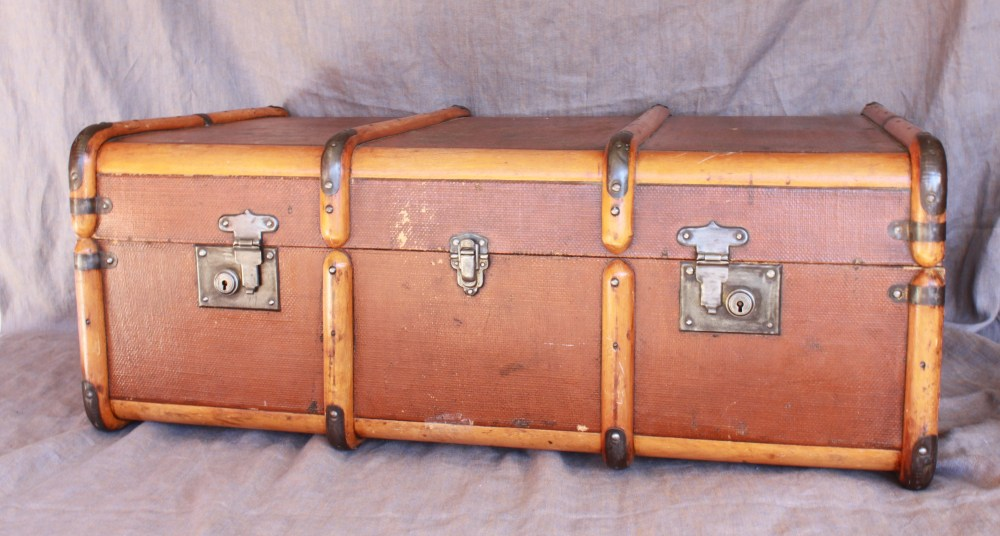 Vintage Brown Trunk