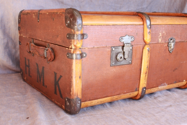 Corner of Vintage Trunk