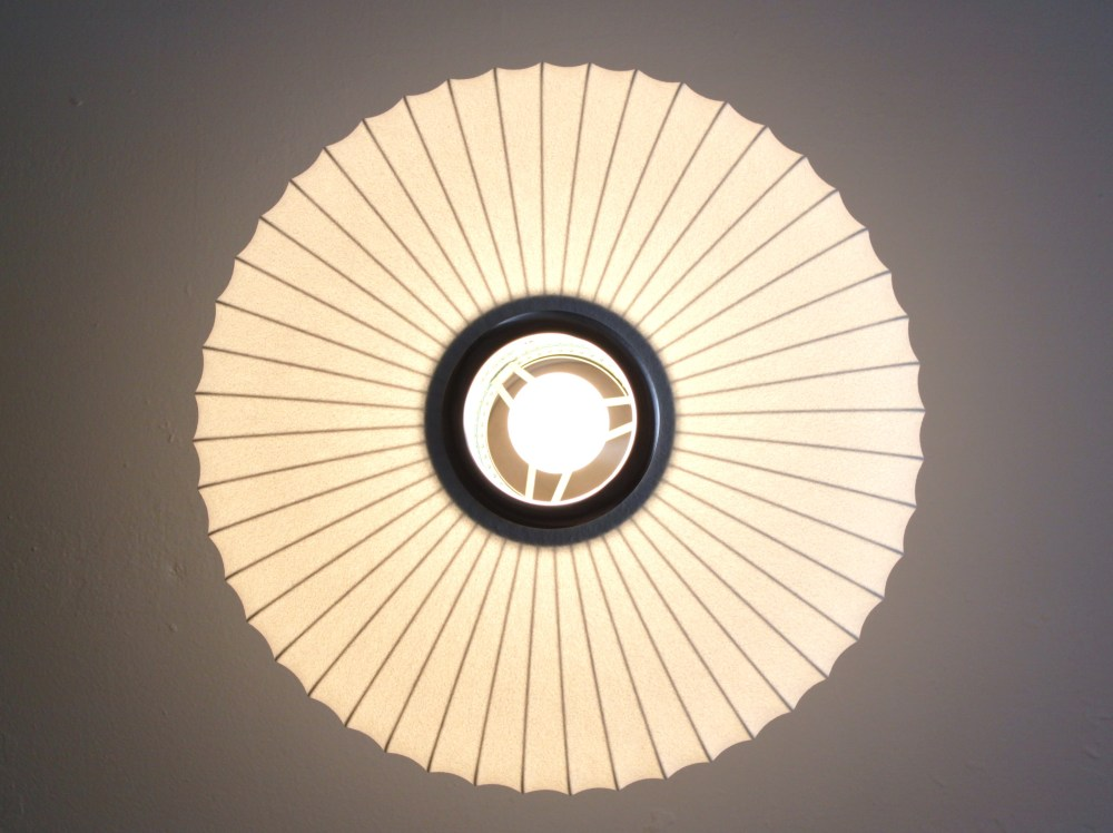 View of the Center of the Nelson Saucer Pendant