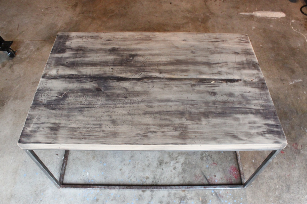 Sanded Coffee Table