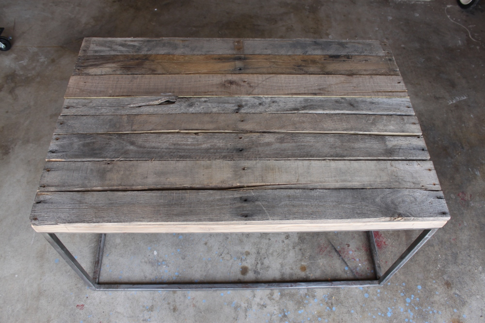 Finished Pallet Woodon Coffee Table
