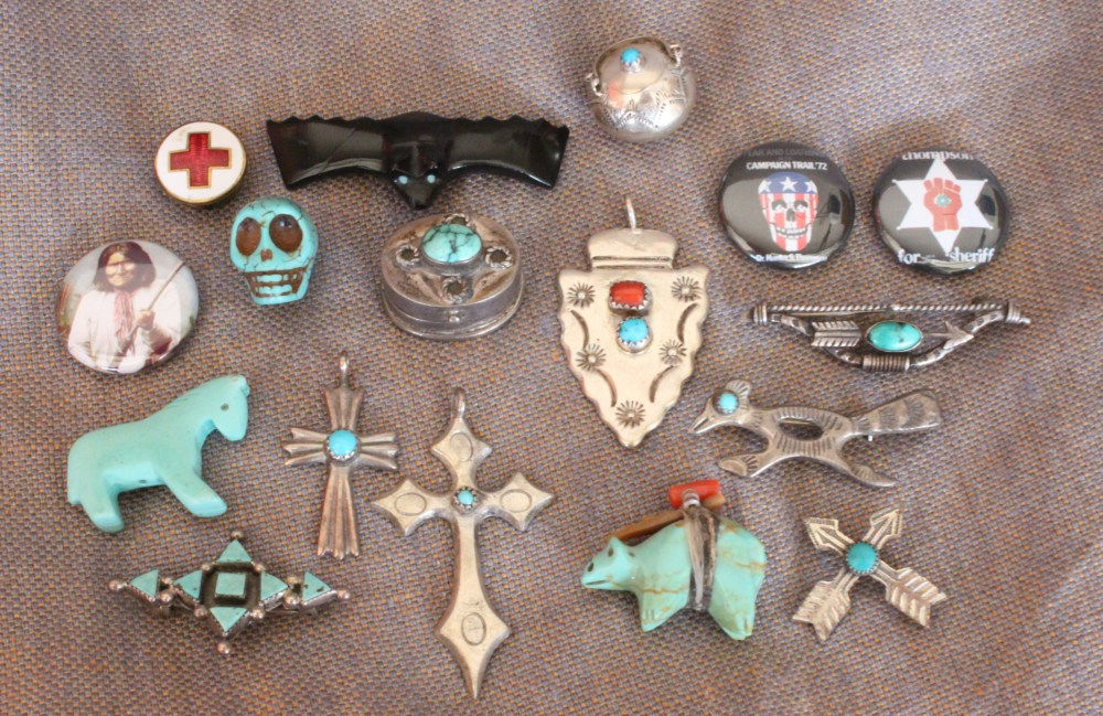 Trinkets in the Indian Maiden Bowl
