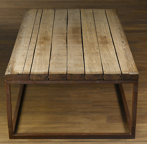 Restoration Hardware Brickmakers Table