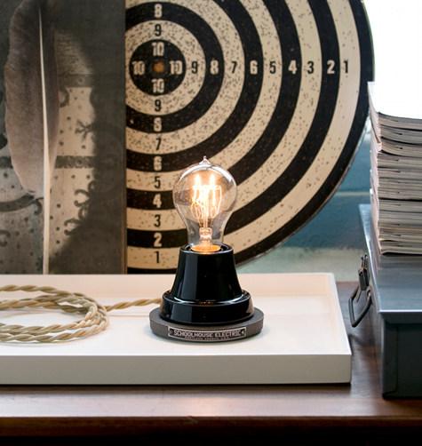 Schoolhouse Electric Black Ion Lamp